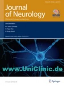 Публикации в журнале Journal of Neurology