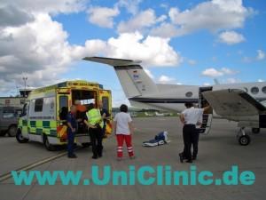 Авиаперевозка пациента в Мюнхен
