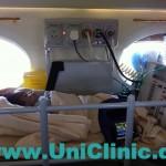 Транспортирование пациента в Германию на санитарном самолёте